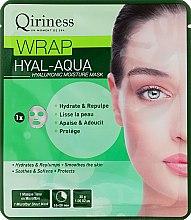 Parfums et Produits cosmétiques Masque en tissu hyaluronique lissant et repulpant - Qiriness Wrap Hyal-Aqua Hyaluronic Moisture Mask