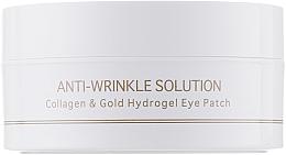 Parfums et Produits cosmétiques Patch en hydrogel de collagène pour yeux, taille standard - BeauuGreen Collagen & Gold Hydrogel Eye Patch