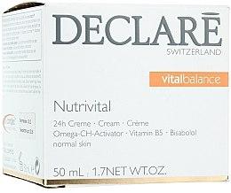Parfums et Produits cosmétiques Crème à l'huile de noyau d'abricot et vitamine B5 pour visage - Declare Nutrivital 24 h Cream