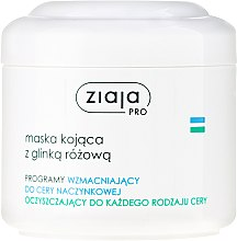 Parfums et Produits cosmétiques Masque à l'argile rose pour visage - Ziaja Pro Soothing Mask with Pink Clay
