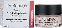 Parfums et Produits cosmétiques Masque exfoliant intense pour visage - Dr Sebagh Deep Exfoliating Mask