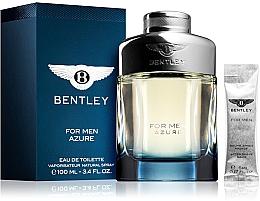 Parfums et Produits cosmétiques Bentley Bentley For Men Azure - Coffret (eau de toilette/100ml + baume après-rasage/5ml)