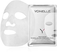 Parfums et Produits cosmétiques Masque à la biocellulose pour visage - Yonelle Trifusion Biocellulose Endolift Mask