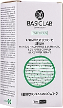 Parfums et Produits cosmétiques Sérum anti-imperfections à la niacinamide pour visage - BasicLab Esteticus Face Serum