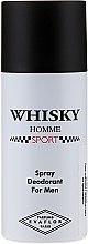 Parfums et Produits cosmétiques Evaflor Whisky Homme Sport - Déodorant en spray pour homme