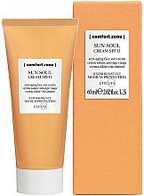 Parfums et Produits cosmétiques Crème solaire anti-âge SPF 15 pour visage - Comfort Zone Sun Soul Face Cream SPF 15