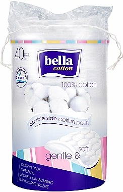 Tampons démaquillants en coton - Bella Cotton Duo-Wattepads