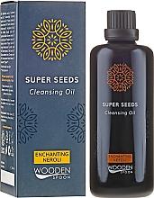 Parfums et Produits cosmétiques Huile nettoyante à l'huile de néroli pour visage - Wooden Spoon Super Seeds Enchanting Neroli Cleansing Oil