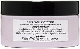 Parfums et Produits cosmétiques Après-shampooing pré-coiffant à l'huile d'amande douce - Davines Your Hair Assistant Prep Rich Balm