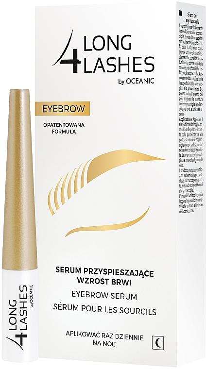 Sérum accélérateur de croissance sourcils - Long4Lashes Eyebrow Enhancing Serum