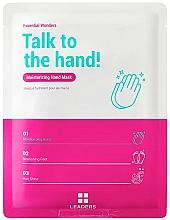 Parfums et Produits cosmétiques Masque à l'huile d'argan pour mains - Leaders Essential Wonders Talk To The Hand! Mask