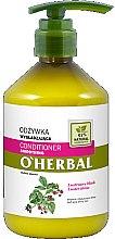 Parfums et Produits cosmétiques Après-shampooing lissant à l'extrait de framboise effet brillance miroir - O'Herbal