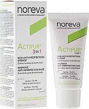 Parfums et Produits cosmétiques Soin anti-imperfections à l'acide salicylique pour visage - Noreva Actipur Intensive Anti-Imperfection Care 3in1