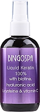 Parfums et Produits cosmétiques Kératine liquide 100% avec biotine, acide hyaluronique, L-cystéine et vitamine C - Bingospa Liquid 100% Keratin with Biotine
