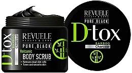 Parfums et Produits cosmétiques Gommage corps - Revuele Pure Black Detox Volcanic Body Scrub