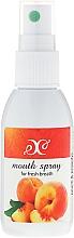 Parfums et Produits cosmétiques Spray d'haleine fraîche Pêche - Hristina Cosmetics Peach Mouth Spray