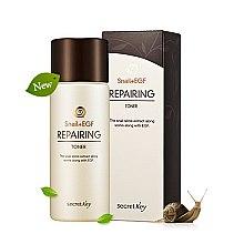 Parfums et Produits cosmétiques Lotion tonique à l'extrait de bave d'escargot - Secret Key Snail + EGF Repairing Toner