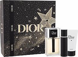 Parfums et Produits cosmétiques Dior Xmas New Dior Homme Jewel Box - Coffret (eau de toilette/100ml + eau de toilette/10ml + gel douche/50ml)