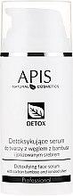 Parfums et Produits cosmétiques Sérum au charbon de bambou et argent ionisé pour visage - APIS Professional Detox Detoxifying Face Serum With Carbon Bamboo And Ionized Silver