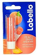 Parfums et Produits cosmétiques Baume à lèvres Pêche - Labello Lip Care Peach Shine Lip Balm