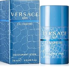 Parfums et Produits cosmétiques Versace Man Eau Fraiche - Déodorant stick