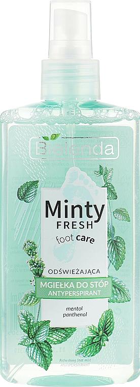 Spray désodorisant pour pieds - Bielenda Minty Fresh Foot Care Antiperspirant