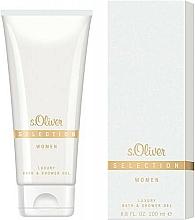 Parfums et Produits cosmétiques S.Oliver Selection for Woman - Gel douche et bain