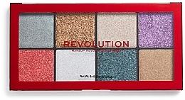 Parfums et Produits cosmétiques Palette de paillettes pressées - Makeup Revolution Halloween 2019 Pressed Glitter Palette