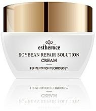 Parfums et Produits cosmétiques Crème à l'extrait de soja pour visage - Deoproce Estheroce Soybean Repair Solution Cream