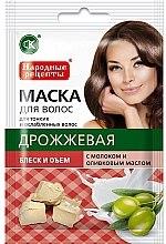 Parfums et Produits cosmétiques Masque à la levure et huile d'olive pour cheveux - FitoKosmetik Recettes folkloriques
