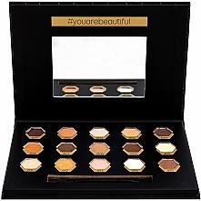 Parfums et Produits cosmétiques Palette de fards à paupières - Cosmetic 2K Polygon Eyeshadow Palette