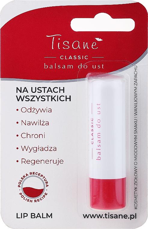 Baume à lèvres protecteur, blister - Farmapol Tisane Classic Lip Balm