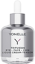 Parfums et Produits cosmétiques Crème à l'extrait d'edelweiss pour visage,yeux et menton - Yonelle Trifusion Eye-Face-Chin Liquid Cream Tensor