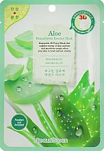 Parfums et Produits cosmétiques Masque tissu à la poudre d'aloe vera pour visage - Beauugreen Contour 3d Aloe Essence Mask