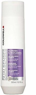 Shampooing déjaunissant - Goldwell Dualsenses Blondes & Highlights Anti-Brassiness Shampoo — Photo N1