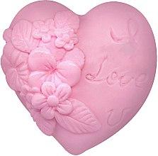 Savon glycériné, forme de coeur, rose - Bulgarian Rose Soap — Photo N1