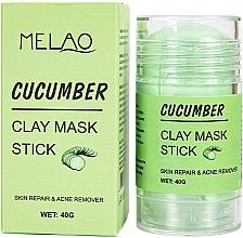 Parfums et Produits cosmétiques Masque en stick pour visage Concombre - Melao Cucumber Clay Mask Stick