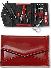Parfums et Produits cosmétiques Kit de manucure Fire, 7 éléments - Credo Solingen Luxurious Manicure Set
