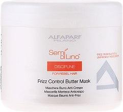 Parfums et Produits cosmétiques Masque-beurre anti-frisottis - Alfaparf Semi di Lino Discipline Frizz Mask