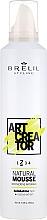 Parfums et Produits cosmétiques Mousse coiffante naturelle,fixation moyenne - Brelil Art Creator Natural Mousse