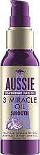 Parfums et Produits cosmétiques Huile pour cheveux - Aussie 3 Miracle Smooth Oil
