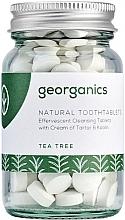Parfums et Produits cosmétiques Comprimés de nettoyage des dents, Arbre à thé - Georganics Natural Toothtablets Tea Tree