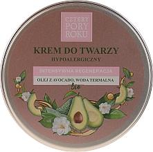 Parfums et Produits cosmétiques Crème à l'huile d'avocat pour visage - Cztery Pory Roku Intensive Regeneration Face Cream