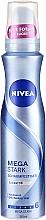 Parfums et Produits cosmétiques Mousse coiffante, fixation extra forte - Nivea Mousse Mega Stark