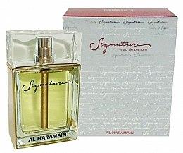 Parfums et Produits cosmétiques Al Haramain Signature - Eau de Parfum