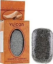 Parfums et Produits cosmétiques Pierre ponce, 98x58x37mm, gris foncé - Vulcan Pumice Stone