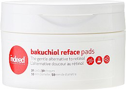 Parfums et Produits cosmétiques 30 disques pour visage - Indeed Bakuchiol Reface Pads