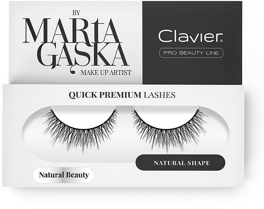 Faux cils - Clavier Quick Premium Lashes Natural Beauty 827