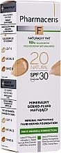 Parfums et Produits cosmétiques Fond de teint minéral matifiant - Pharmaceris F Mineral Mattifying Fluid Dermo-Foundation SPF 30