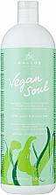 Parfums et Produits cosmétiques Shampooing aux protéines végétales et huile d'avocat - Kallos Cosmetics KJMN Vegan Soul Nourishing Shampoo